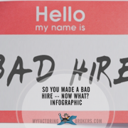 So You Made a Bad Hire – Now What? [Infographic]