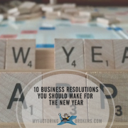 10 Business New Year Resolutions You Should Make for the New Year