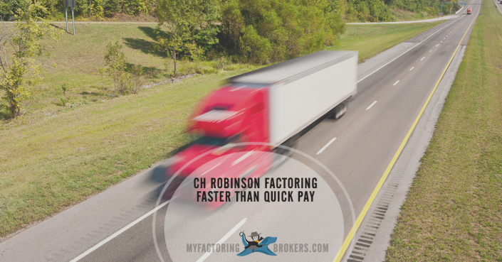 CH Robinson Invoice Factoring Faster than Quick Pay Rates from 1%