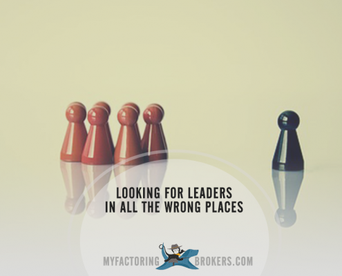 Looking for leaders in all the wrong places
