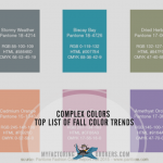Complex Colors Top List of Fall Color Trends