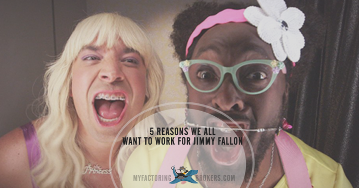 5 Reasons We All Want to Work for Jimmy Fallon