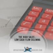 Solving the High Sales - Low Cash Flow Dilemma