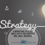 Infographic - 4 Marketing Strategy Must-Haves for Startups and Small Business