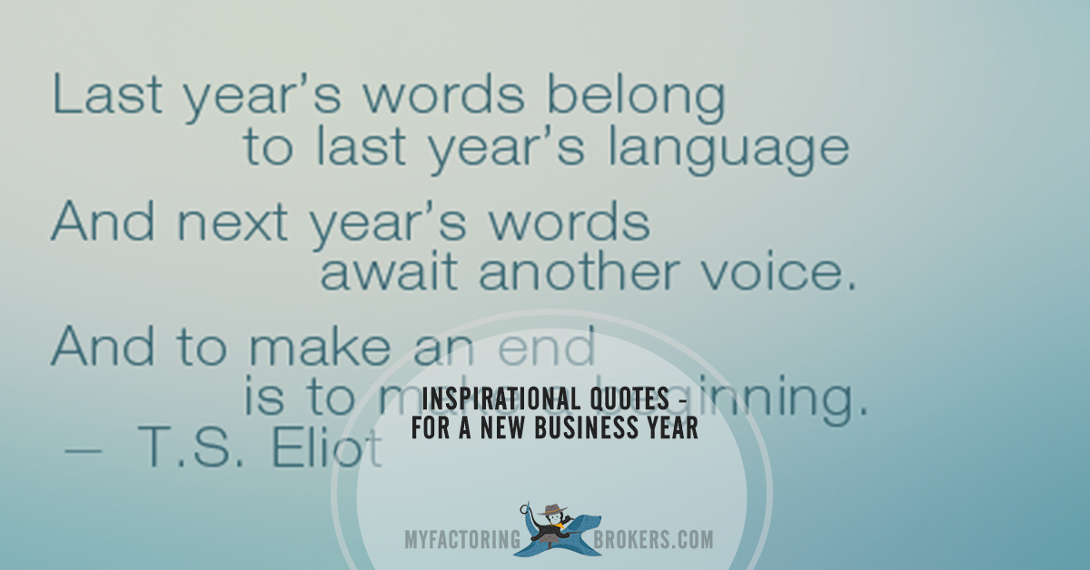 12 inspirational new years quotes for business leaders