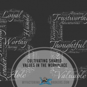 Cultivating Shared Values in the Workplace