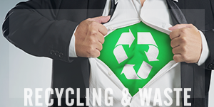 Invoice factoring recycling and waste management