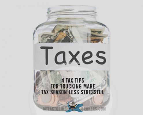 4 Tax Tips for Trucking Make Tax Season Less Stressful