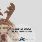Black Friday and Thanksgiving Weekend Holiday Shopping Stats