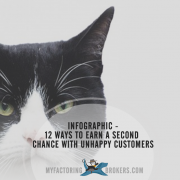 Infographic - 12 Ways to Show Unhappy Customers You Deserve a Second Chance