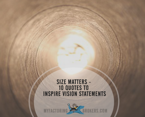 Size Matters - 10 Quotes About Vision to Inspire Vision Statements