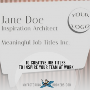 10 Creative Job Titles to Inspire Your Team at Work