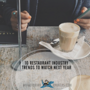 Marketing Ideas for the Latest Restaurant Industry New Year Trends