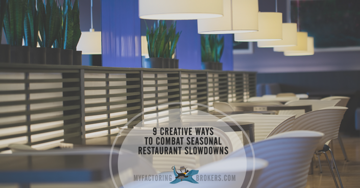 9 Ways Restaurant Owners Can Turn Slow Seasons into Cash Cows