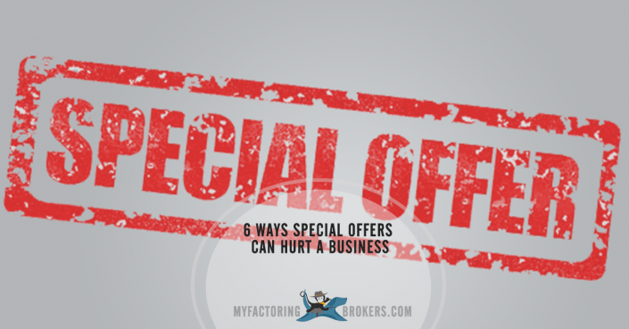6 ways discounting and marketing with special offers can hurt a business