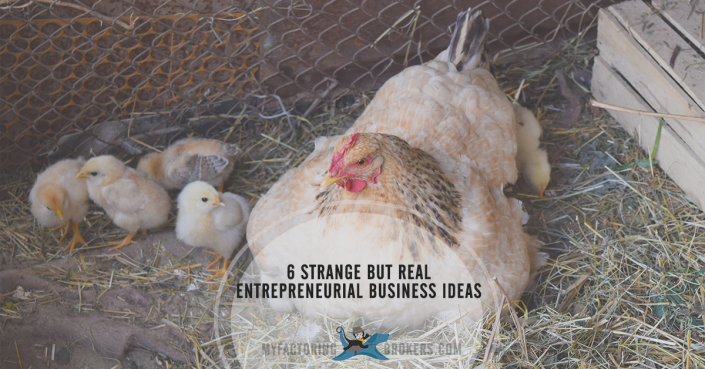 Strange but real entrepreneurial business ideas