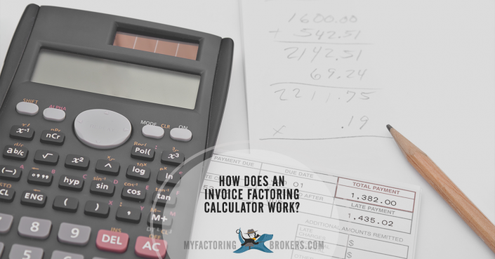 How Does an Invoice Factoring Calculator Work?