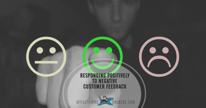 responding positively to negative customer feedback