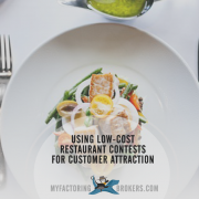 Using Low-Cost Restaurant Contests for Customer Attraction