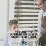 5 restaurant first impressions that bring new customers back for more