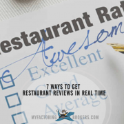 7 Ways to Get Restaurant Reviews in Real Time