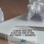 Infographic - 5 Startup Ideas Ideas to Help You Start Up Your Next Startup