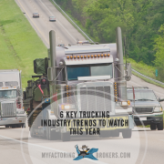 The Trucking Industry Trends Shaping the Future of Transportation and Logistics Right Now