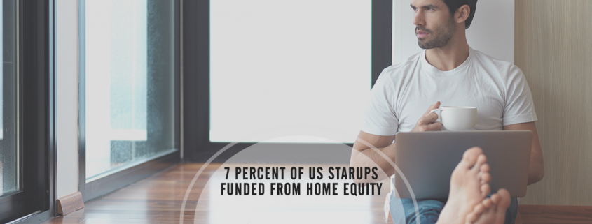 7 Percent of US Businesses Find Startup Money at Home